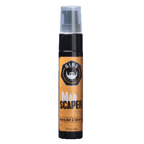 Man Scaper Beard, Hair & Tattoo Oil by GIBS